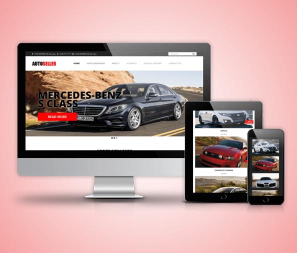 Thiết kế website thuê xe ôtô