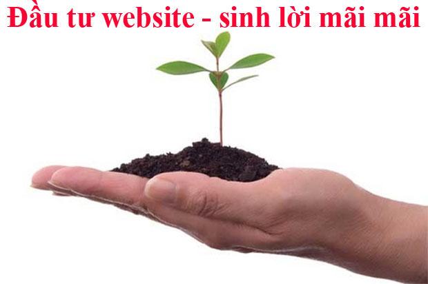 Đầu tư thiết kế website bán hàng để sinh lời