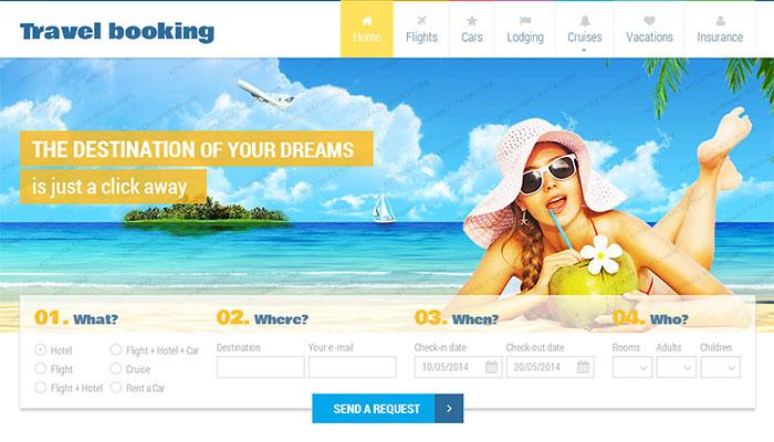 Thiết kế website tour du lịch chuyên nghiệp