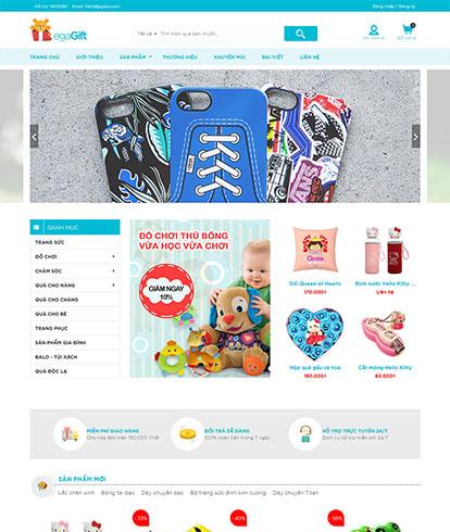 Thiết kế Website quà tặng EGA eGift