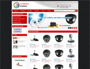 Thiết kế website an ninh 1