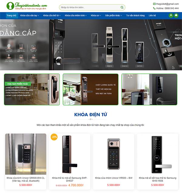 Thiết kế website bán hàng (áp dụng nhiều nghành nghề)