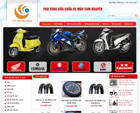 Thiết kế website bán hàng trực tuyến - BH2