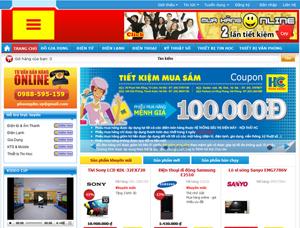 Thiết kế website bán hàng trực tuyến - BH3