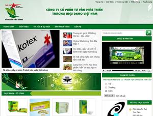 Thiết kế website giới thiệu sản phẩm - GTSP2