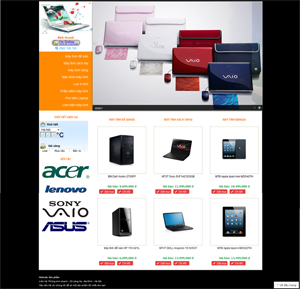 Thiết kế website máy tính 5