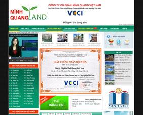 Thiết kế website sàn giao dịch bất động sản - SBDS2