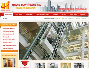 Thiết kế website thang máy - BH9
