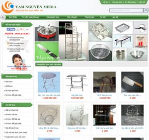 Mẫu thiết kế website bán hàng - BH1