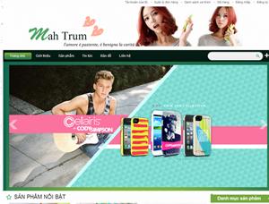 Mẫu thiết kế website bán hàng - BH12