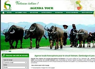 Mẫu website du lịch số 1