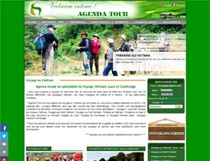Mẫu website du lịch số 4