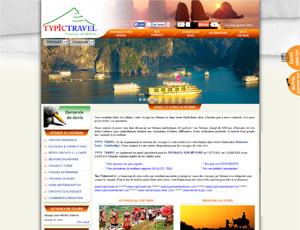Mẫu website du lịch số 5