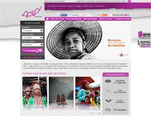 Mẫu website du lịch số 6