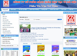 Mẫu website giáo dục số 1