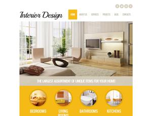 Mẫu website kiến trúc số 3