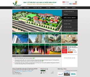 Mẫu website kiến trúc số 6