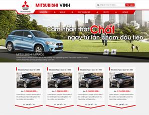 Mẫu website Ô tô 1