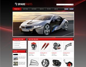 Mẫu website Ô tô 6