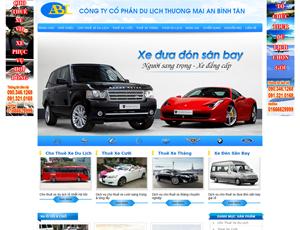 Mẫu website Ô tô 8
