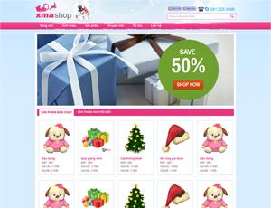 Mẫu website quà tặng số 2