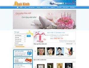 Mẫu website quà tặng số 3