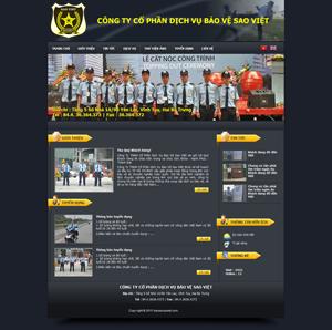 Thiết kế website an ninh 3