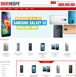 Mẫu thiết kế website bán hàng - BH10