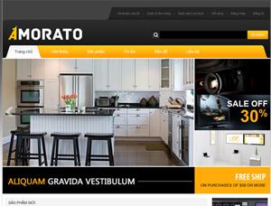 Mẫu thiết kế website bán hàng - BH11