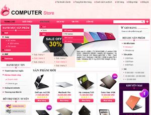 Thiết kế website bán hàng - BH18