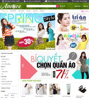 Thiết kế website bán hàng - BH27