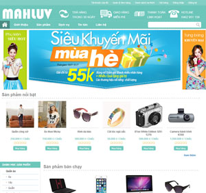 Thiết kế website bán hàng - BH28