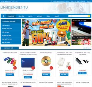 Thiết kế website bán hàng linh kiện điện tử