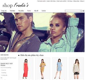 Thiết kế website bán hàng thời trang - BH31