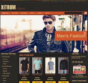 Thiết kế website bán hàng thời trang - BH34