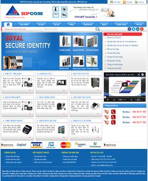 Thiết kế website công ty HPCom