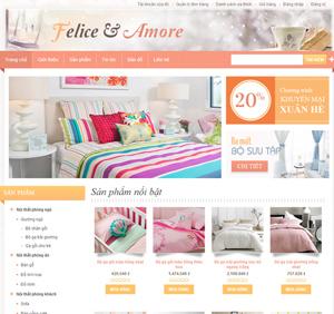 Thiết kế website công ty nội thất Đẹp