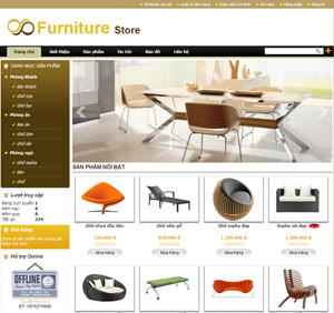Thiết kế website công ty showroom nội thất