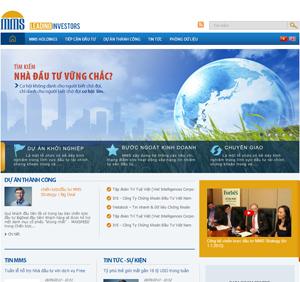 Thiết kế website Đầu tư, dự án