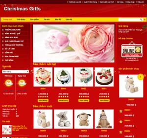Thiết kế website dịch vụ quà tặng DV6