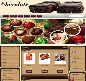 Thiết kế website dịch vụ quà tặng Socola