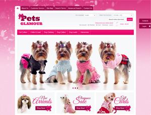 Thiết kế website động vật - thú nuôi 1