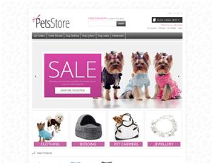 Thiết kế website động vật - thú nuôi 3
