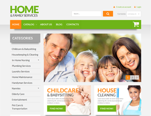 Thiết kế website gia đình 3