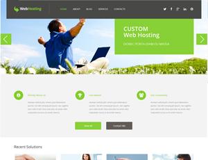 Thiết kế website hosting & servers 6