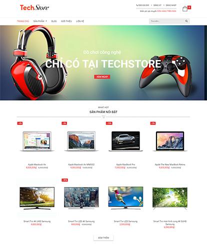 Thiết kế website kinh doanh đồ công nghệ