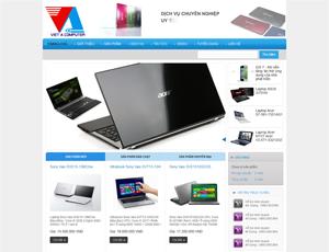 Thiết kế website máy tính 2