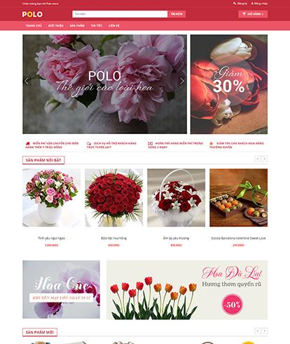 Thiết kế website quà tặng Polo