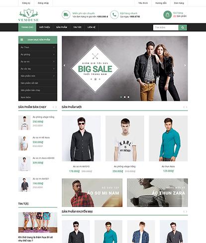 Thiết kế Website Thời Trang Vemouse