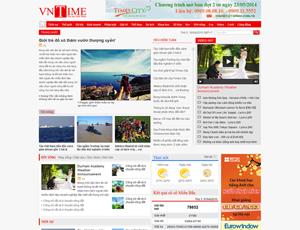 Thiết kế website tin tức 2